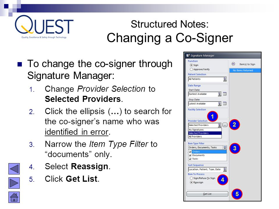 Changing a Co-Signer Structured Notes:
