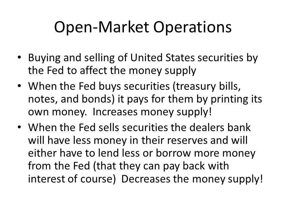 Open-Market Operations