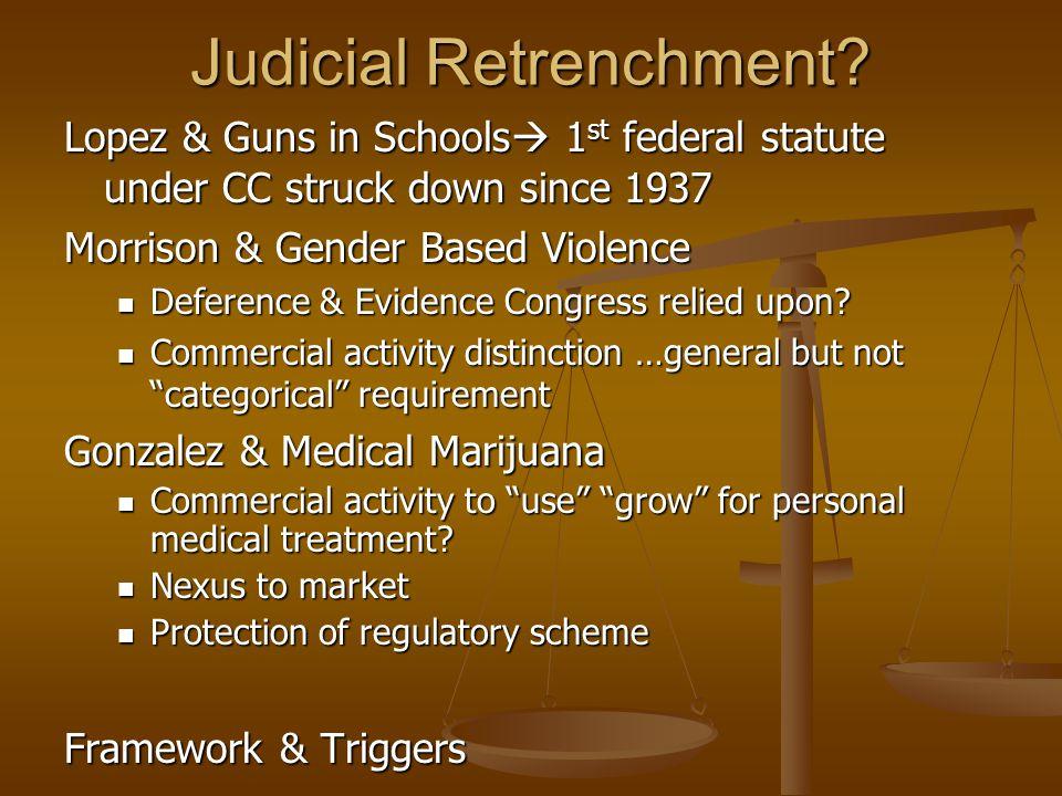 Judicial Retrenchment