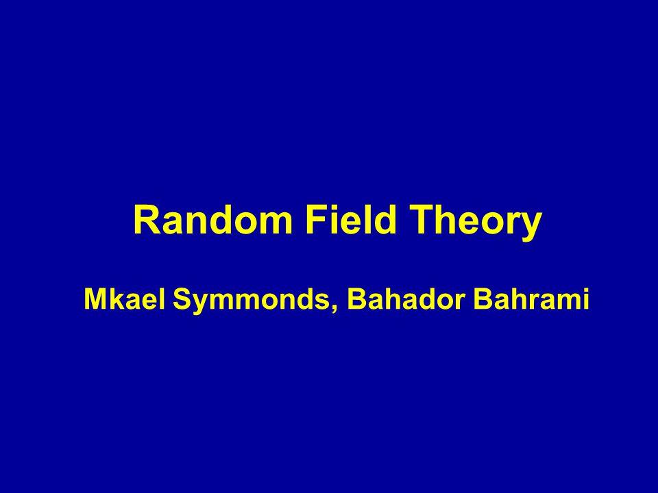 Mkael Symmonds, Bahador Bahrami