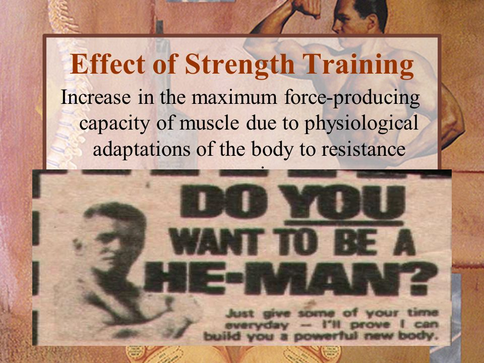Effect of Strength Training