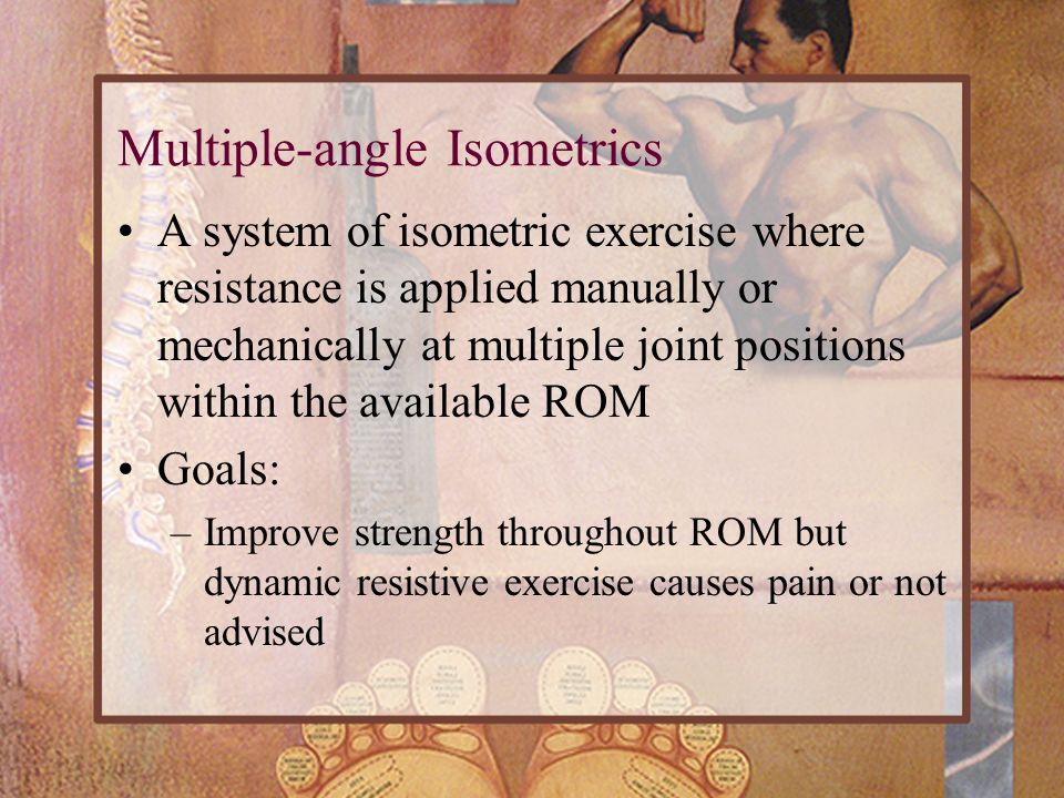 Multiple-angle Isometrics