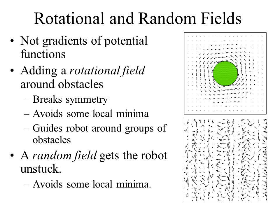 Rotational and Random Fields
