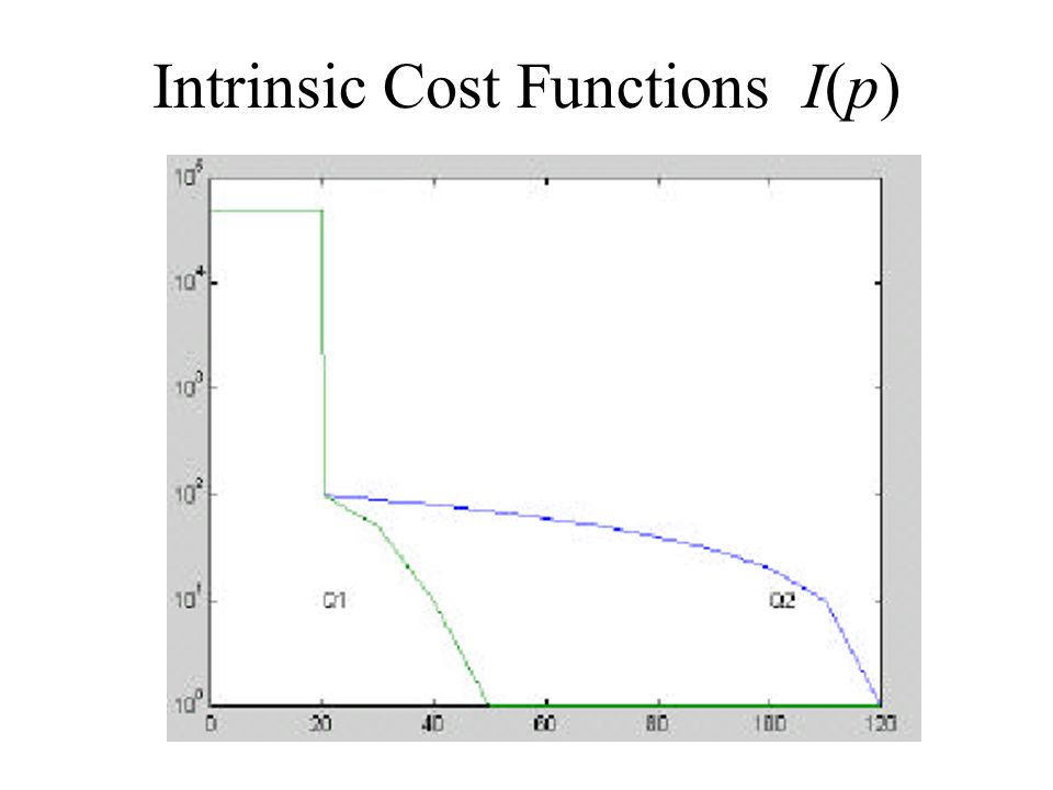 Intrinsic Cost Functions I(p)