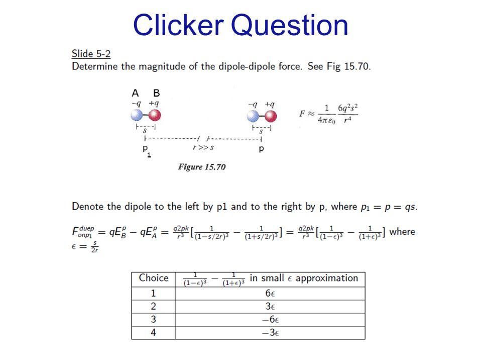 Clicker Question C