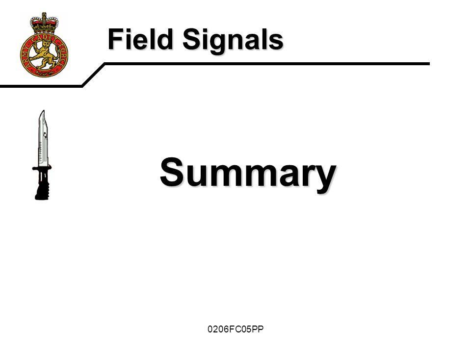 Field Signals Summary 0206FC05PP