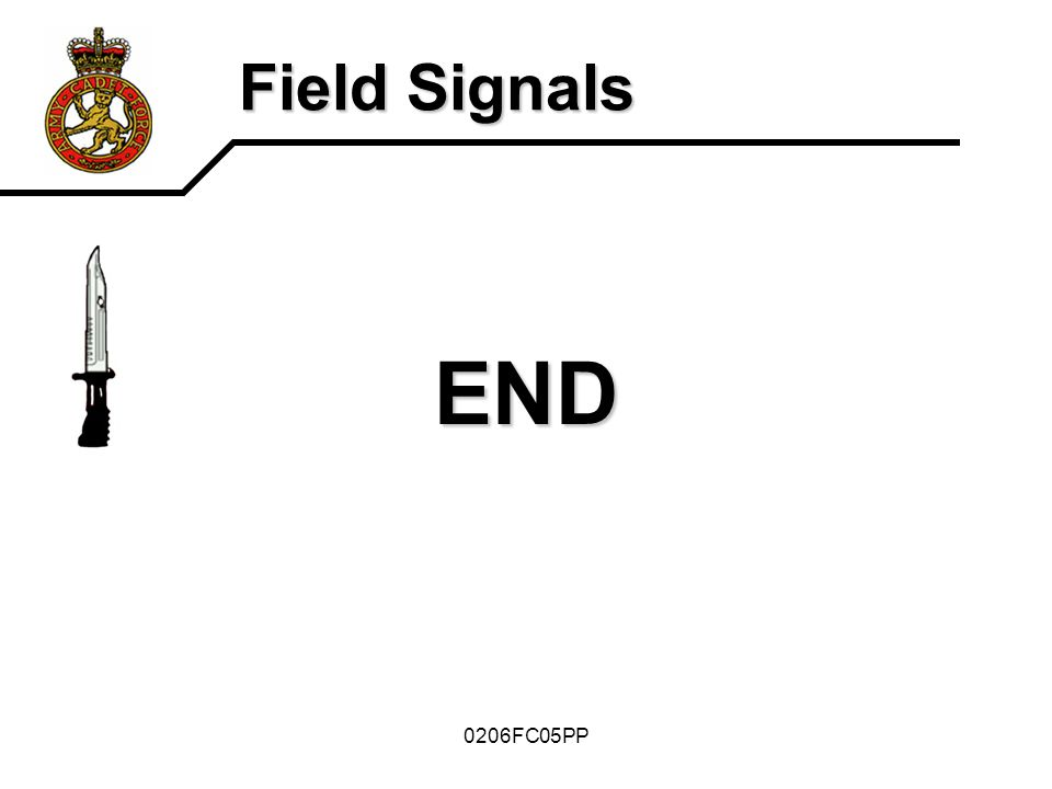 Field Signals END 0206FC05PP