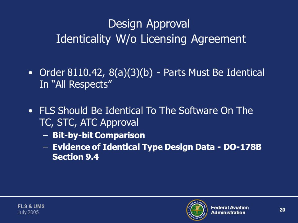 Design Approval Identicality W/o Licensing Agreement