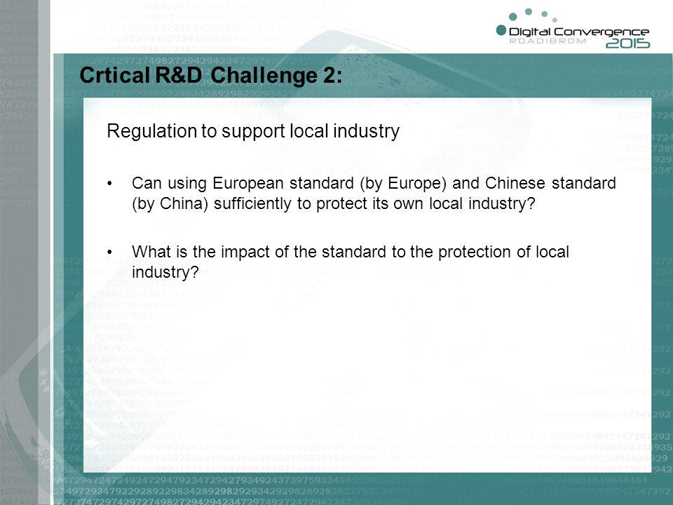 Crtical R&D Challenge 2: