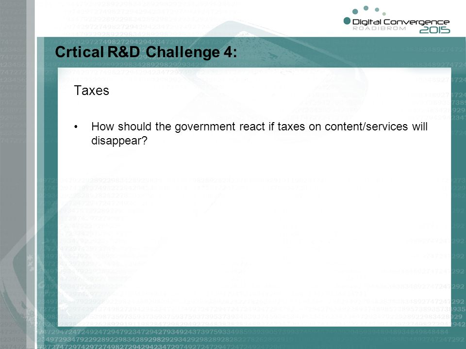 Crtical R&D Challenge 4: