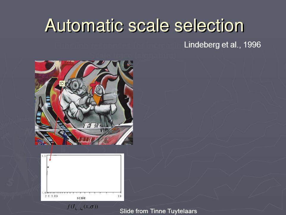 Lindeberg et al, 1996 Lindeberg et al., 1996