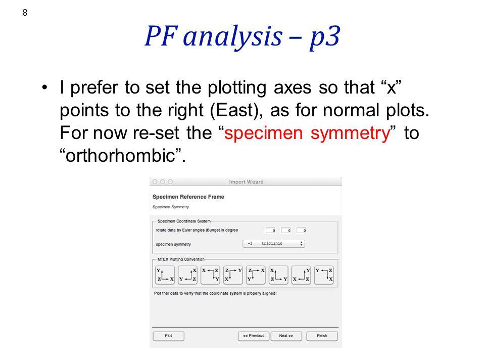 PF analysis – p3