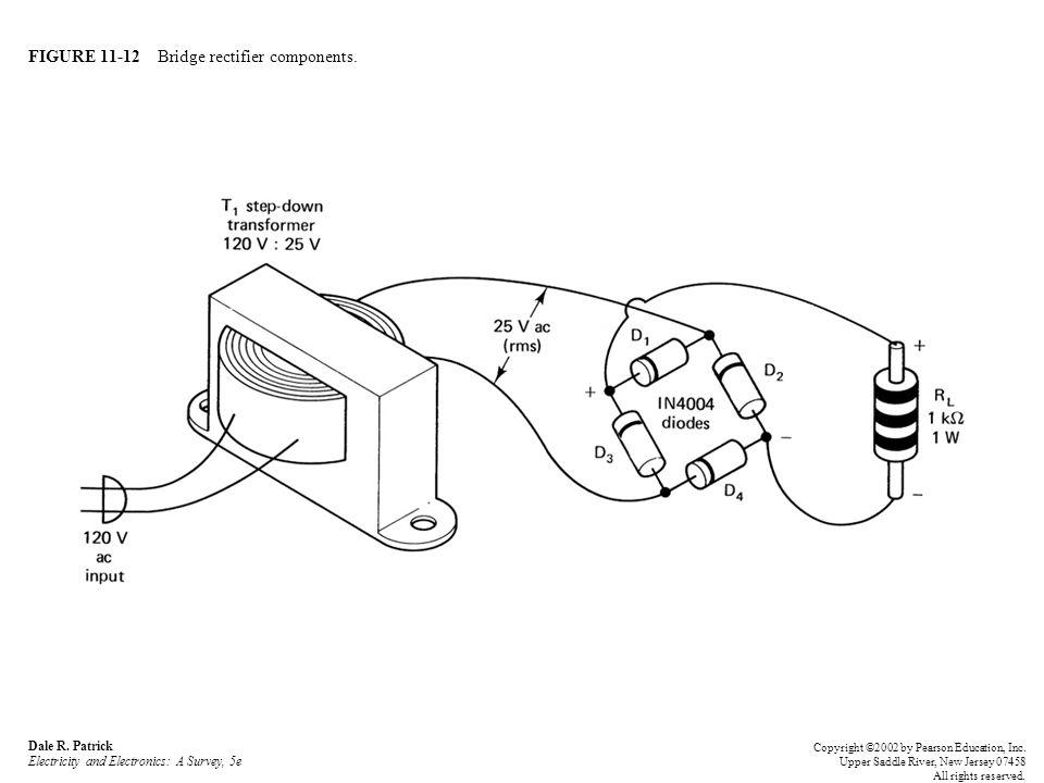 FIGURE 11-12 Bridge rectifier components.