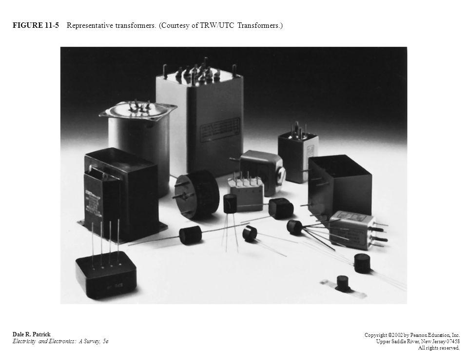 FIGURE 11-5 Representative transformers