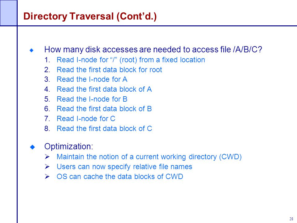 Directory Traversal (Cont'd.)