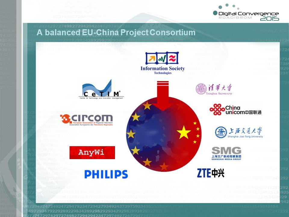 A balanced EU-China Project Consortium