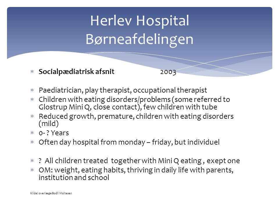Herlev Hospital Børneafdelingen