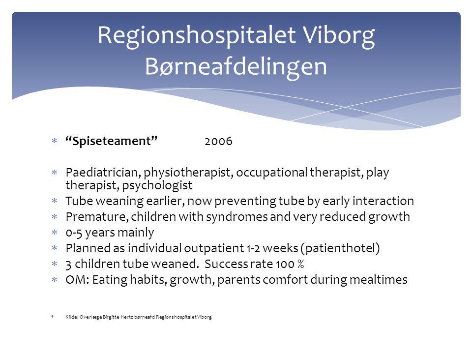 Regionshospitalet Viborg Børneafdelingen