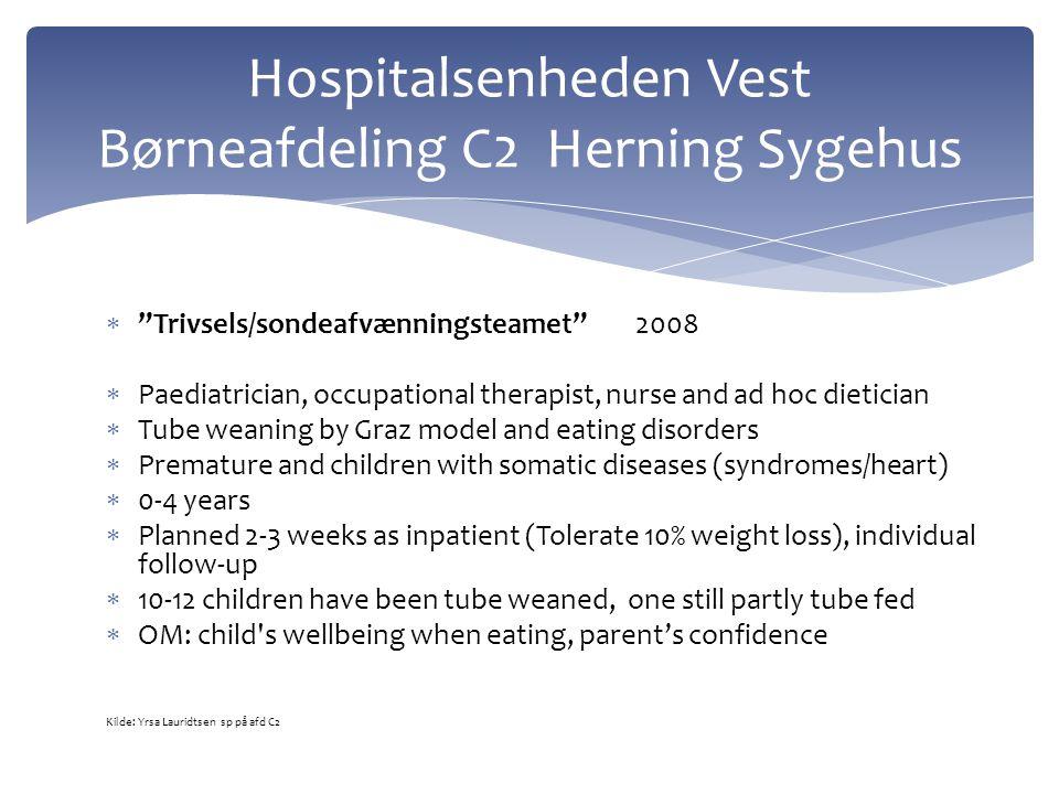 Hospitalsenheden Vest Børneafdeling C2 Herning Sygehus