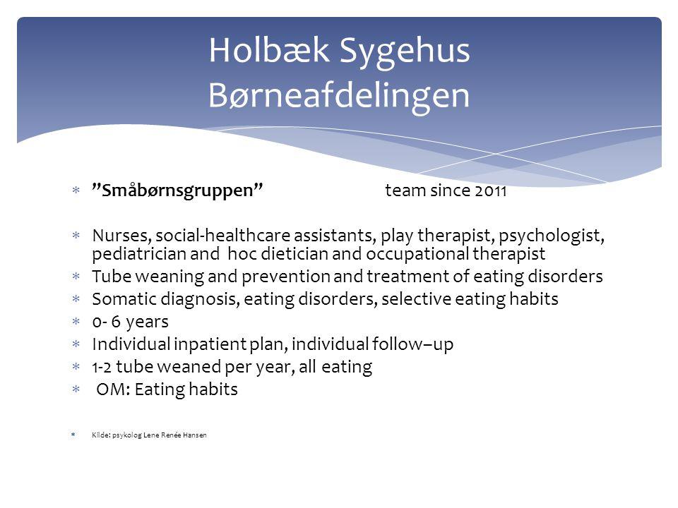 Holbæk Sygehus Børneafdelingen