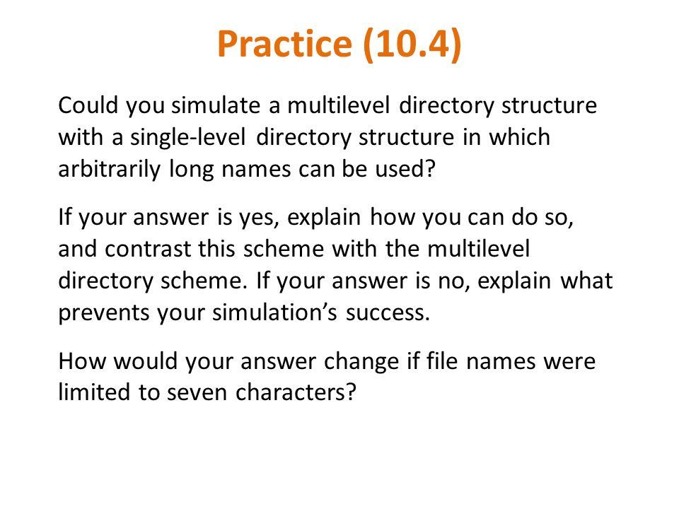 Practice (10.4)