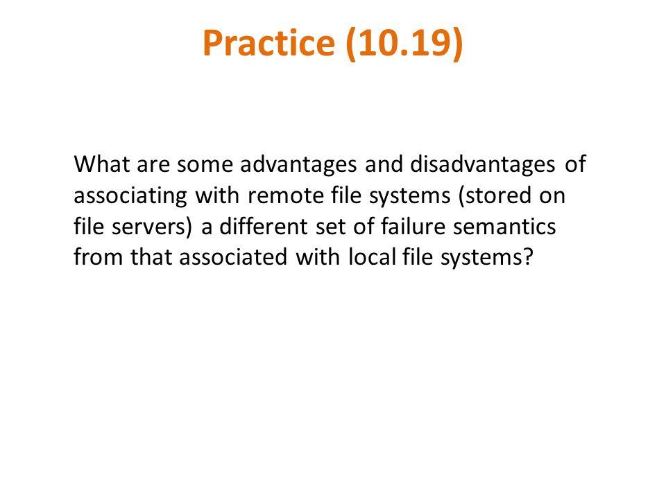 Practice (10.19)