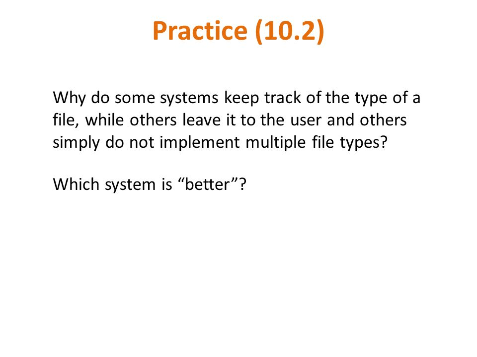 Practice (10.2)