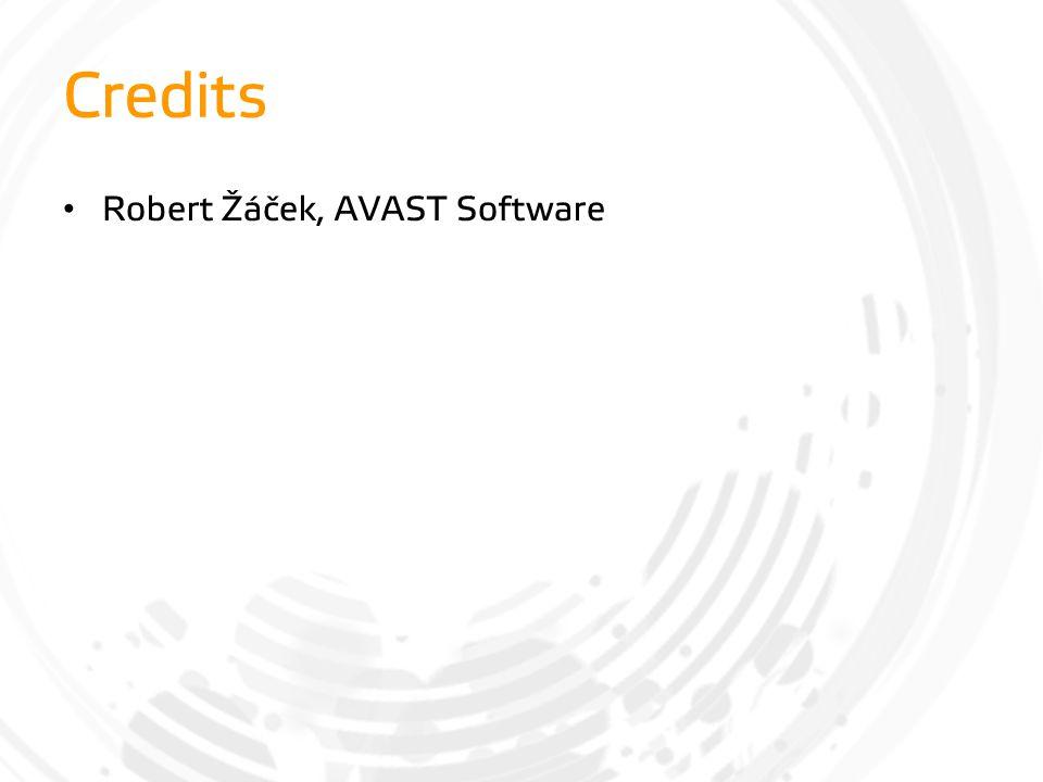 Credits Robert Žáček, AVAST Software