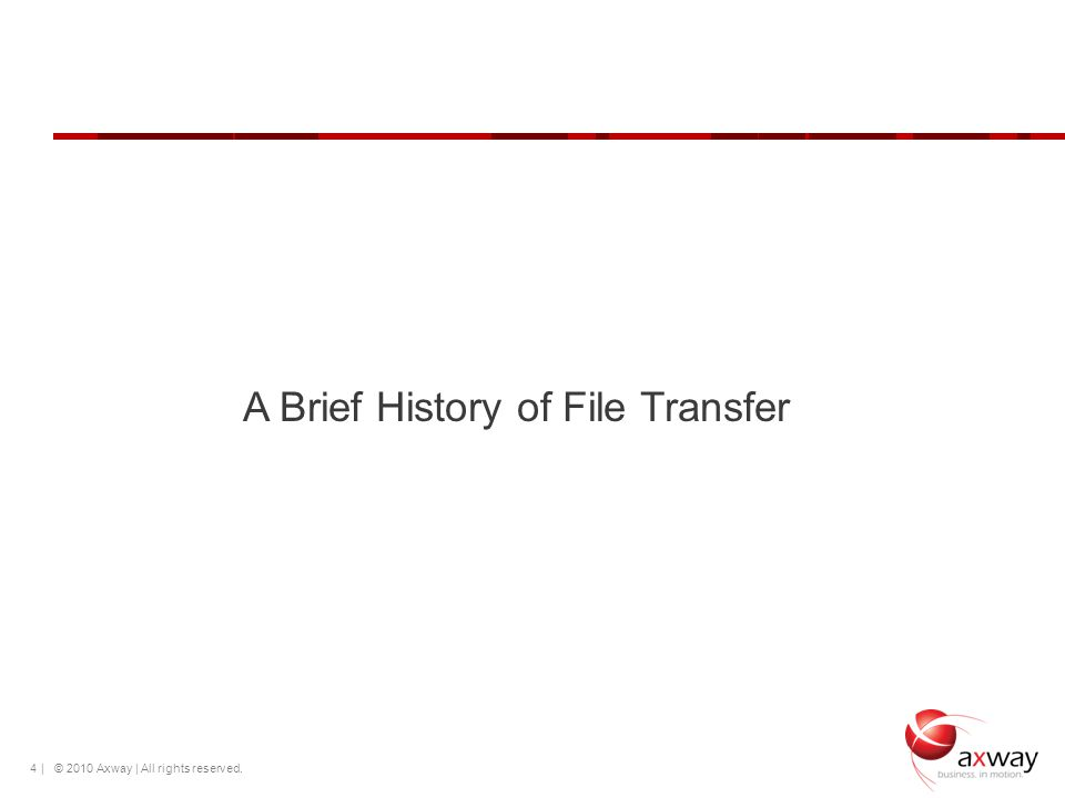 A Brief History of File Transfer
