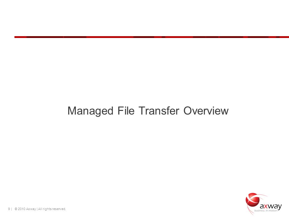 Managed File Transfer Overview
