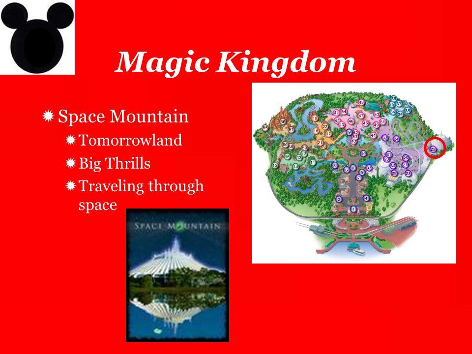 Magic Kingdom Space Mountain Tomorrowland Big Thrills
