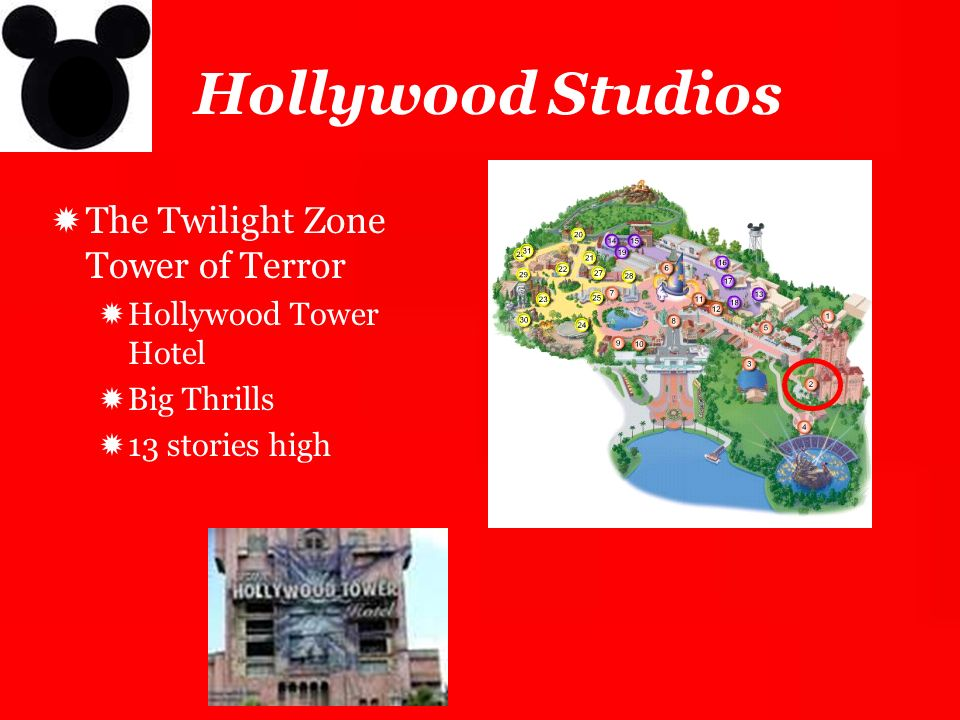 Hollywood Studios The Twilight Zone Tower of Terror