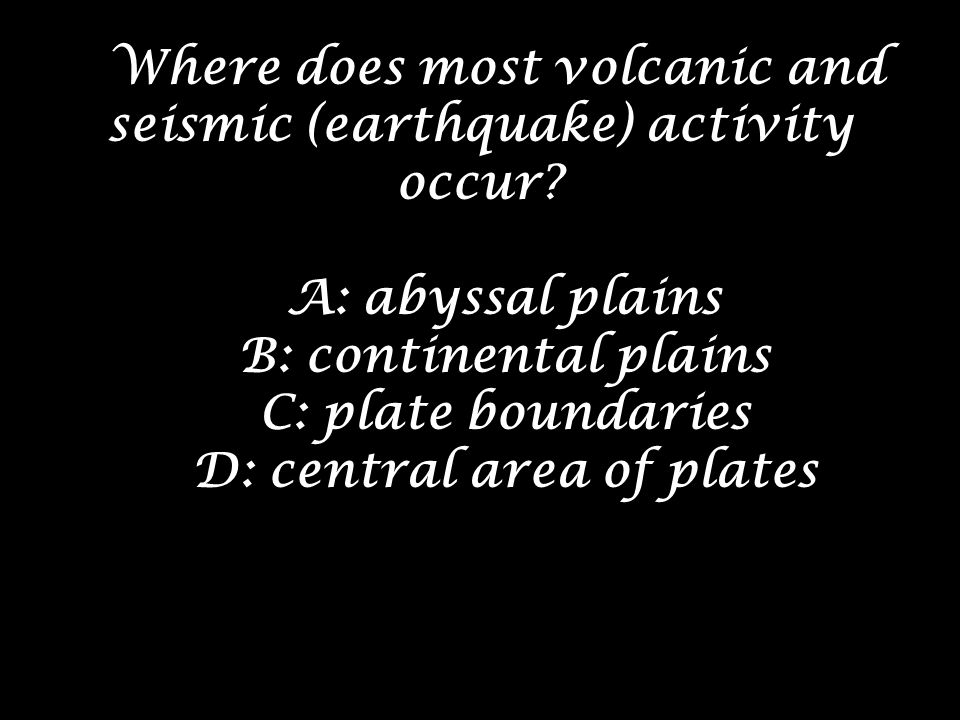 D: central area of plates