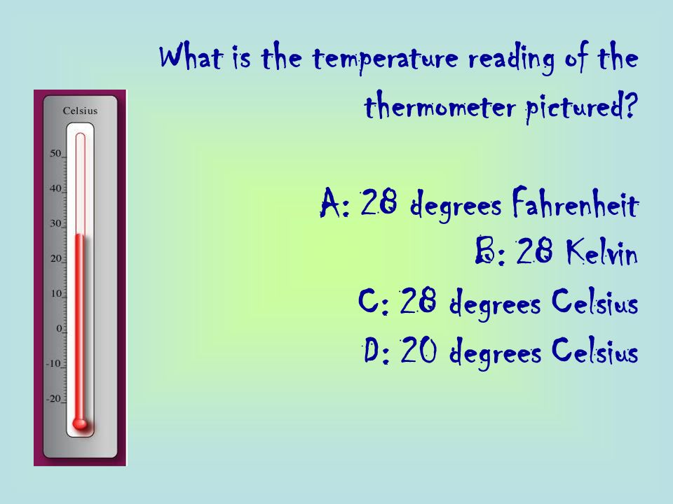 What is the temperature reading of the thermometer pictured