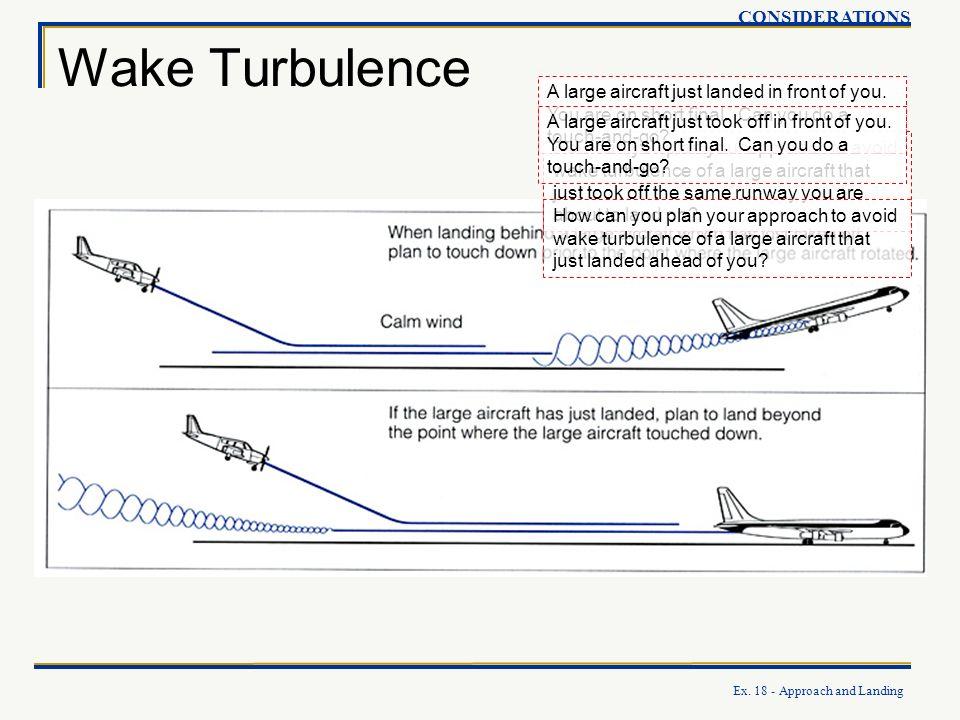 Wake Turbulence CONSIDERATIONS