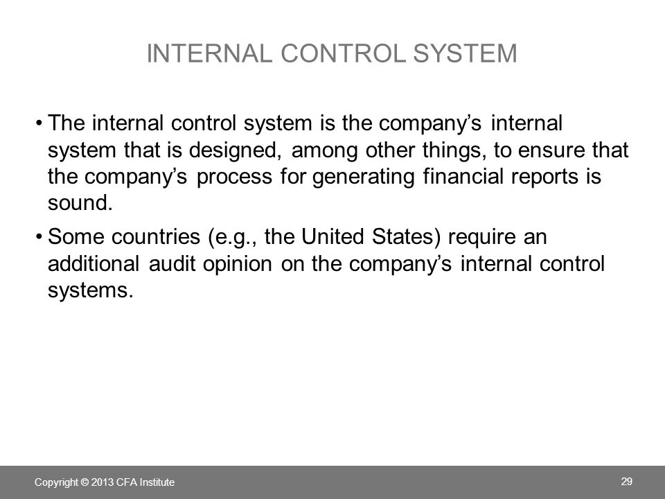 effectiveness of internal control system pdf
