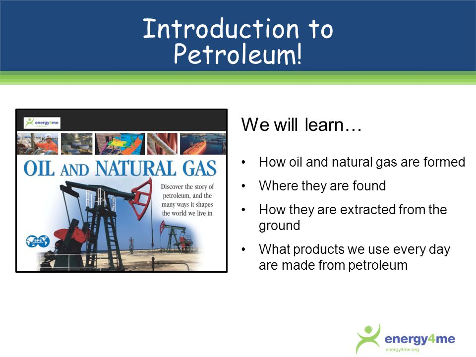 Introduction to Petroleum