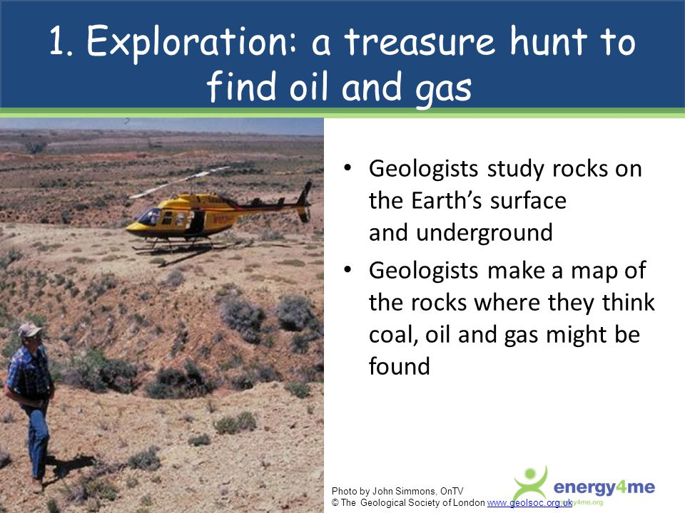 1. Exploration: a treasure hunt to find oil and gas