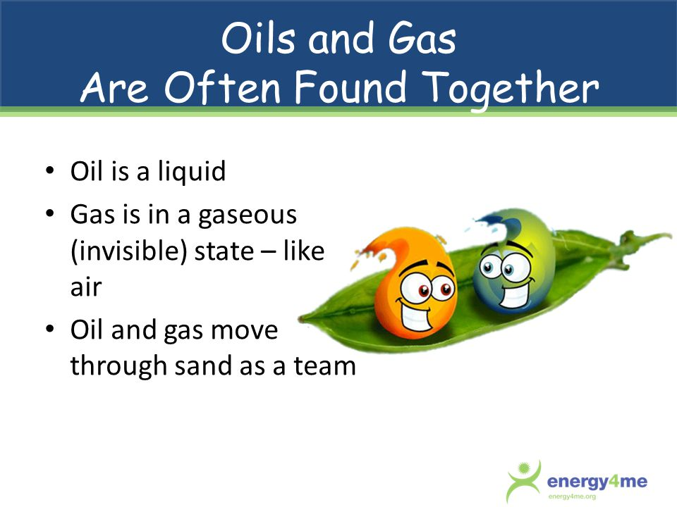 Oils and Gas Are Often Found Together