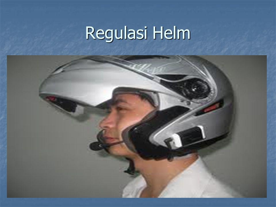 Regulasi Helm