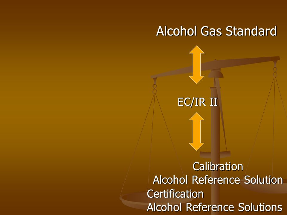 Alcohol Reference Solution