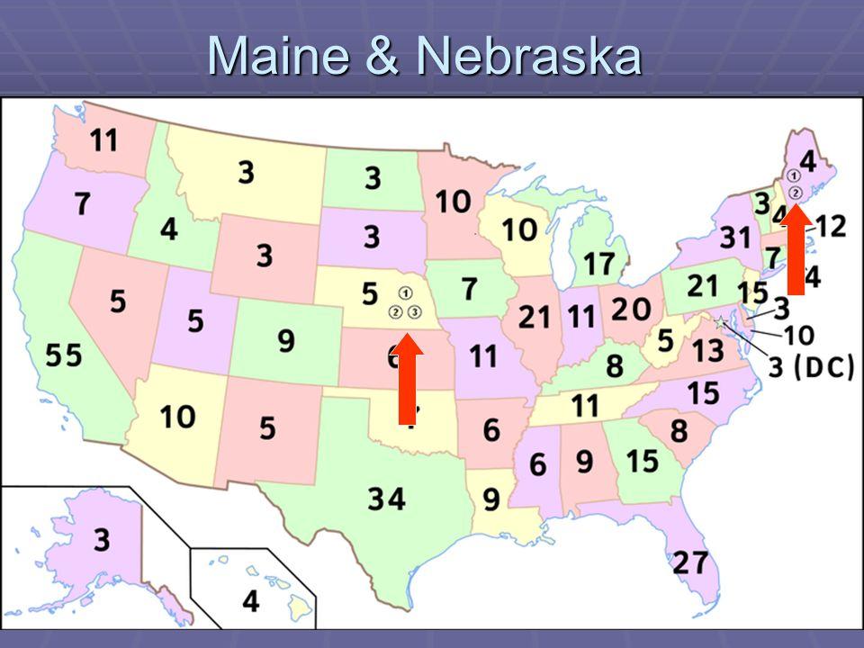 Maine & Nebraska