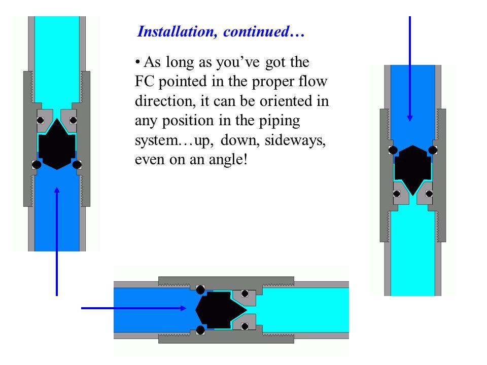 Installation, continued…