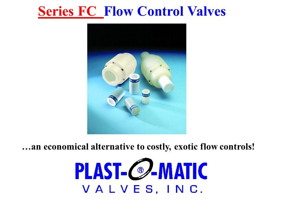 Series FC Flow Control Valves