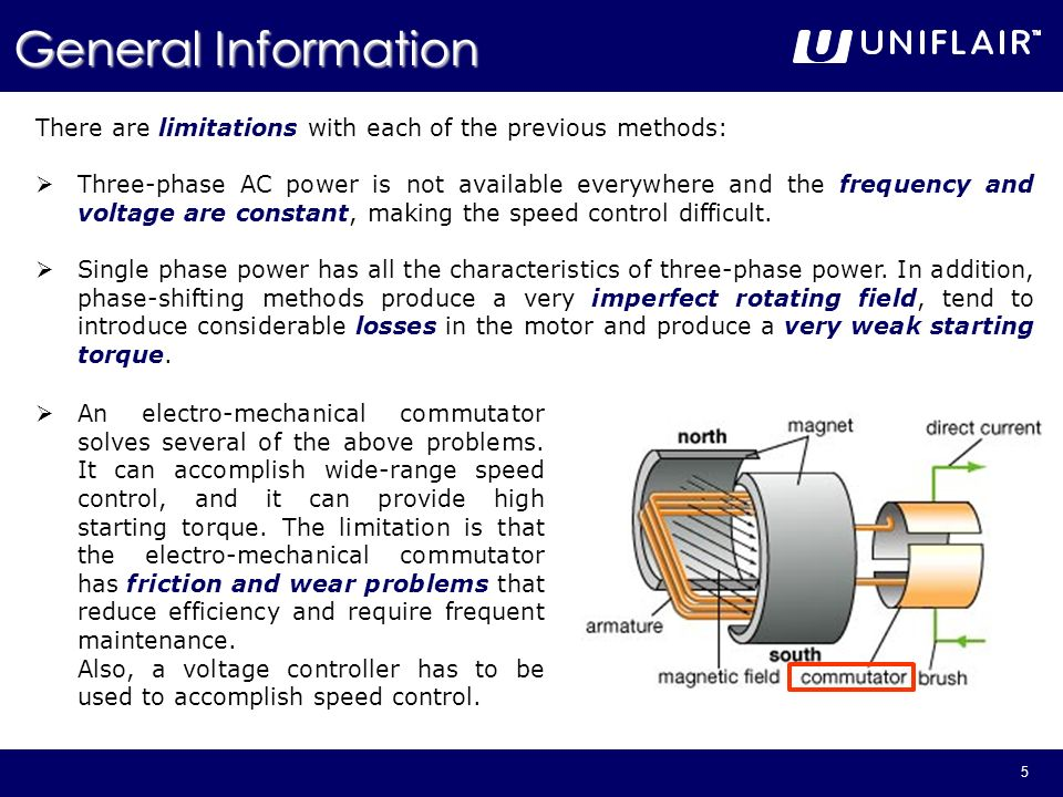 General Information There are limitations with each of the previous methods: