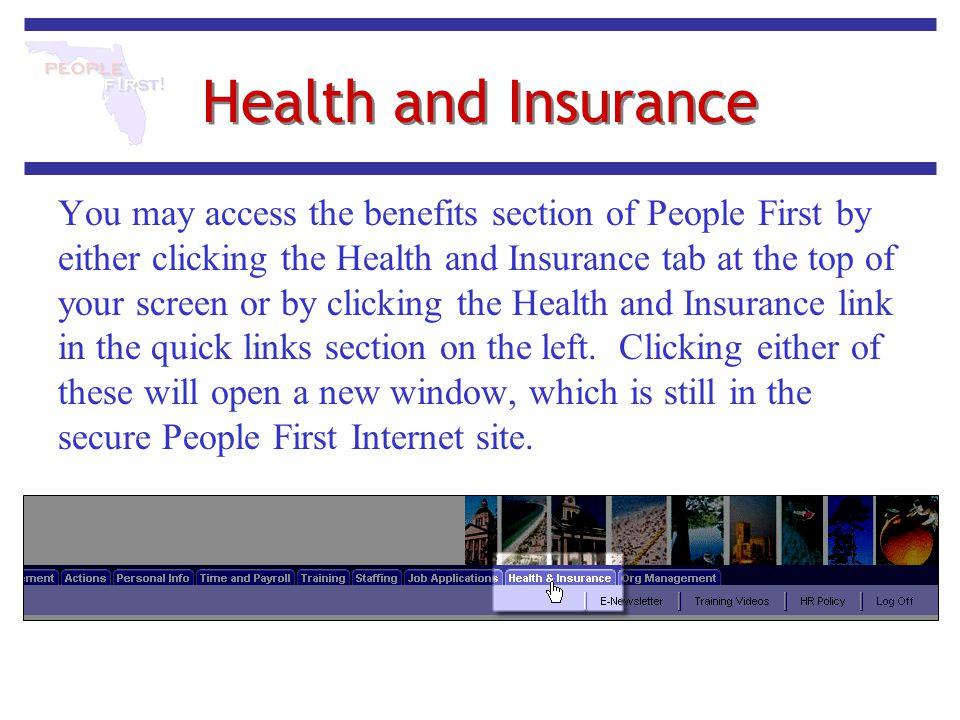 Health and Insurance