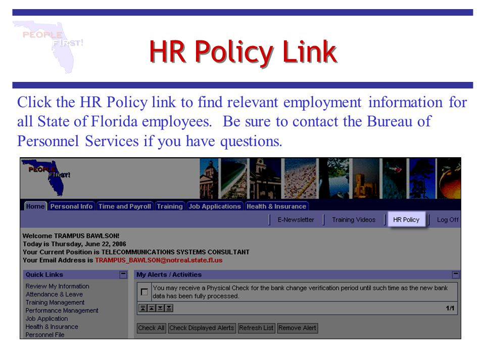 HR Policy Link