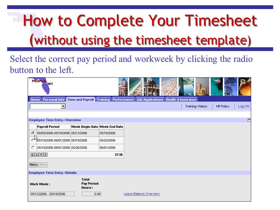 How to Complete Your Timesheet (without using the timesheet template)