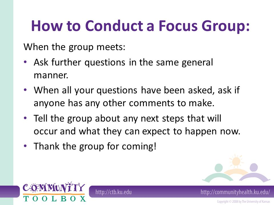 How to Conduct a Focus Group: