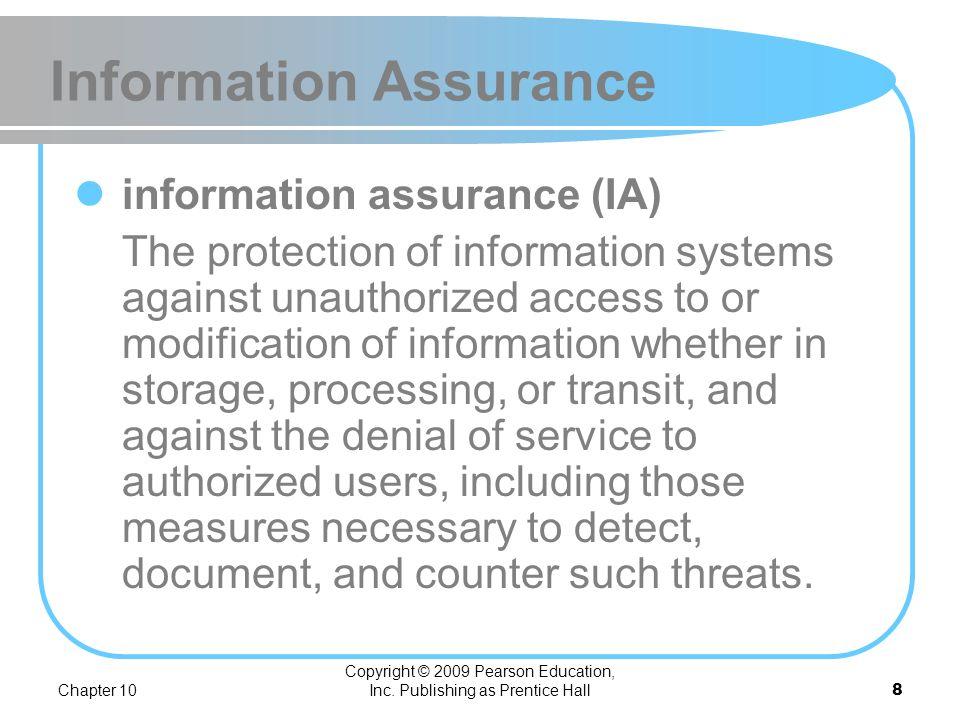 Information Assurance